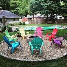 Firepit Chairs Chairs Around Pit Best 25 Pit Seating Ideas On Pinterest