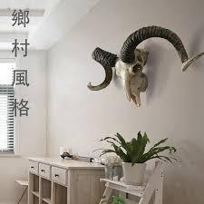Goat Decor Goat Skull Home Decor Resin Cabochon Home Decoration Accessories