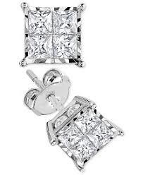 diamond earrings black friday sale diamond earrings macy u0027s