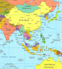 asia east map political map of east asia map of asia political map of asia