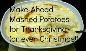 how to freeze mashed potatoes now for thanksgiving parris