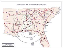 Map Of The Southeastern United States by Southeastern Us Map Southeastern United States U2022 Mappery
