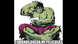 Memes De Hulk - marvel los mejores memes tras el anuncio de sus nuevas películas