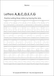 printable alphabet worksheets for kindergarten worksheets