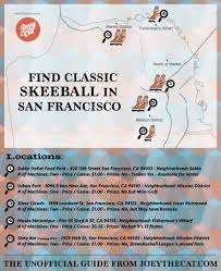Sf District Map Updated Finding Classic Skeeball In San Francisco U2013 Joey The Cat