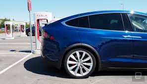 suv tesla blue tesla model x the official suv of the future