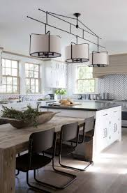 Pendants For Kitchen Island by Best 20 Kitchen Island Table Ideas On Pinterest Kitchen Dining