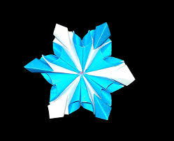 easy origami flower origami snowflake