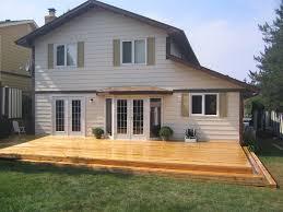 triyae com u003d beautiful backyard decks various design inspiration