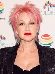 pinks current hairstyle cyndi lauper reveals why her hair is still pink allure