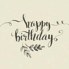 happy birthday hand drawn card vector stock vector image 52024005