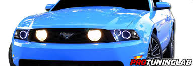mustang projector headlights 2010 2014 ford mustang eye halo led projector headlights hid