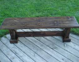 Wooden Benchs Wooden Bench Etsy