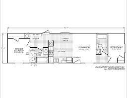 Floor Plans For Trailer Homes Broadmore 14522b Fleetwood Homes