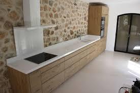 cuisine plan de travail bois beau cuisine blanche plan de travail bois avec cuisine bois plan