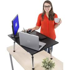 Sit Stand Desk Converter by Buy Now Executive Stand Steady Standing Desk Converter