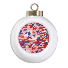 camouflage tree ornaments gifts for everyone