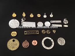 custom jewelry engraving logo engraved jewelry tags charms custom made metal logo charms