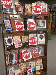 Library Ideas High Book Displays Bing Images Library Display Ideas