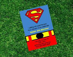 free batman birthday invitations birthday invites marvelous superman birthday invitations design