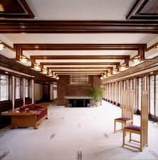 House Living Room by Frank Lloyd Wright