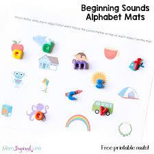 printable alphabet mat beginning sounds alphabet mats with beads fb edit png