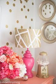 Lamp Shades Diy Diy Lampshades Gold Geometric Shade Just Destiny