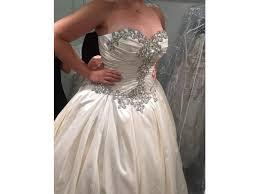 pnina tornai wedding dresses pnina tornai 33274192 6 000 size 10 new un altered wedding