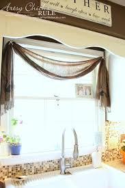Bathroom Window Valance Ideas Colors Best 25 Scarf Valance Ideas On Pinterest Window Scarf Curtain