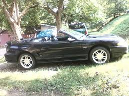 Black Mustang Gt Convertible For Sale Purchase Used 1996 Ford Mustang Gt Convertible 2 Door 4 6l Black