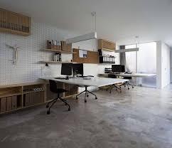 floating desk design these desktops appear to be floating contemporist
