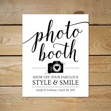 photo booth sign printable photo booth signs for wedding editable photobooth
