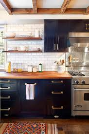 black butcher block kitchen island best 25 butcher block kitchen ideas on butcher block