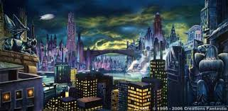 backdrop city ci008 gotham city skyline