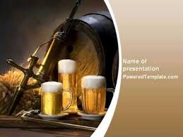 beer barrel powerpoint template by poweredtemplate com youtube