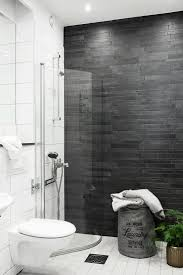 Grey And White Bathroom Tile Ideas Grey Bathroom Feature Tiles With Original Styles Eyagci