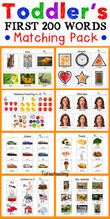 toddler printables color shapes activities and preschool learning