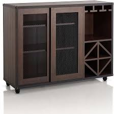 kitchen cabinet sliding doors furniture wooden buffet antique reproduction