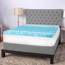 Bed Toppers Sensorpedic Memory Foam U0026 Fiber Fill Toppers