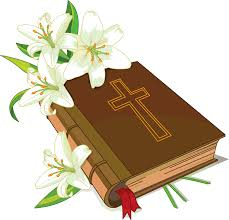 christian bible and flowers clipart clipartcow clipartix