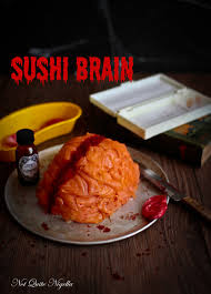 sushi brain halloween not quite nigella
