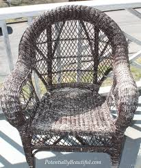 Can You Paint Wicker Chairs Spray Painting Wicker Potentially Beautiful