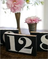 Wedding Table Number Ideas Table Number Ideas Archives Weddingomania