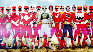 10 power rangers series