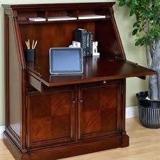 Compact Secretary Desk Custom Built Hardwood Furniturehomestead Furniture Made In Usa