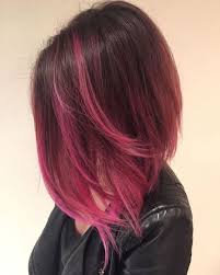 black hair to raspberry hair 40 pink hair ideas unboring pink hairstyles to try in 2018