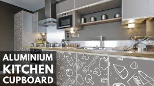 aluminum kitchen cupboard design ideas and photos 2017 youtube