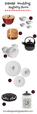 items for a wedding registry wedding registry necessities gourmet mickey mouse kitchen items