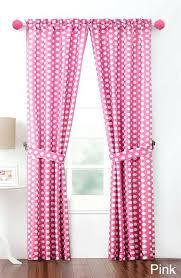 Pink Polka Dot Curtains Pink Polka Dot Curtain Fabric Healthfestblog