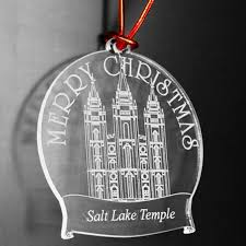 custom lds temple tree ornament naag tag
